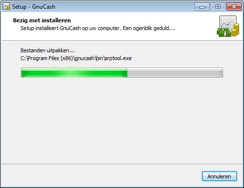 GnuCash Installatie