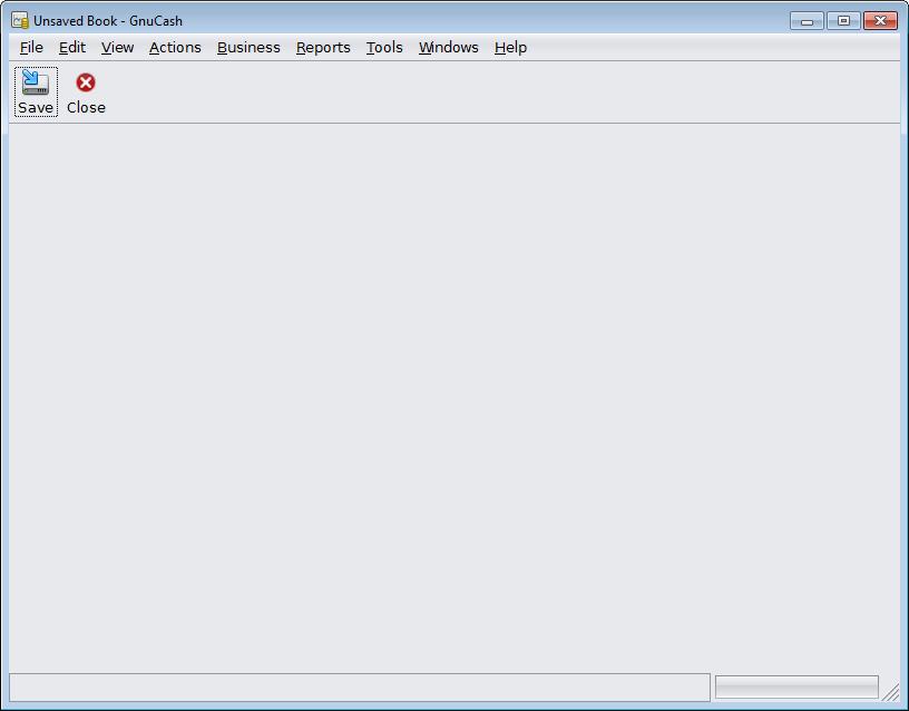 GnuCash_nieuwe installatie